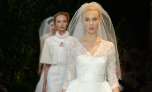 Carolina Herrera Bridal Spring Fashion Show 2014 (Photo Credit: Brides.com)