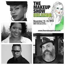 Danessa Myricks, Orlando Santiago, James Vincent (Photo Credit: The Makeup SHow)