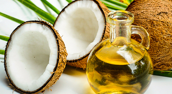 olive oil and coconut